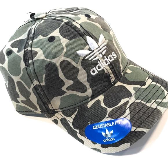 f789daee4f9 NWT - ADIDAS ORIGINALS Forest Camo Hat